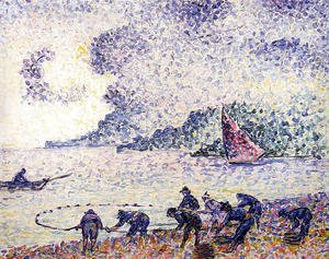 Henri Edmond Cross - Fisherman