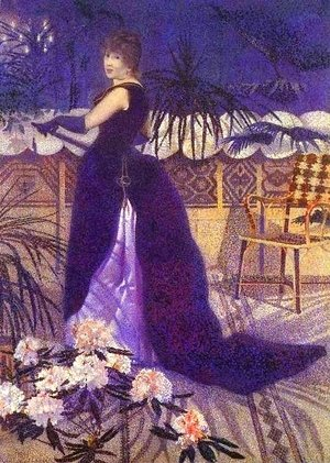 Henri Edmond Cross - Hector France Nee Irma Clare
