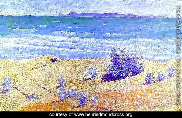 Beach On The Mediterranian