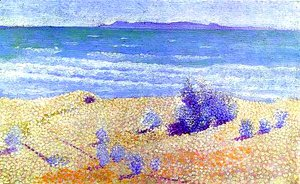 Henri Edmond Cross - Beach On The Mediterranian