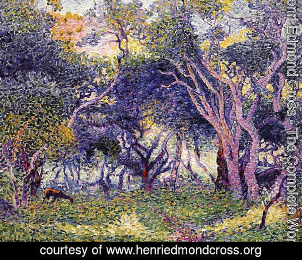 Henri Edmond Cross - Undergrowth