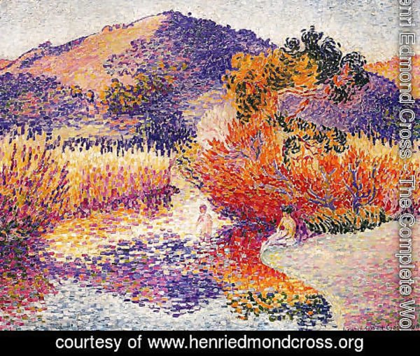 Henri Edmond Cross - River In Saint Clair