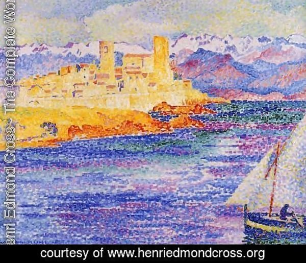 Henri Edmond Cross - Antibes