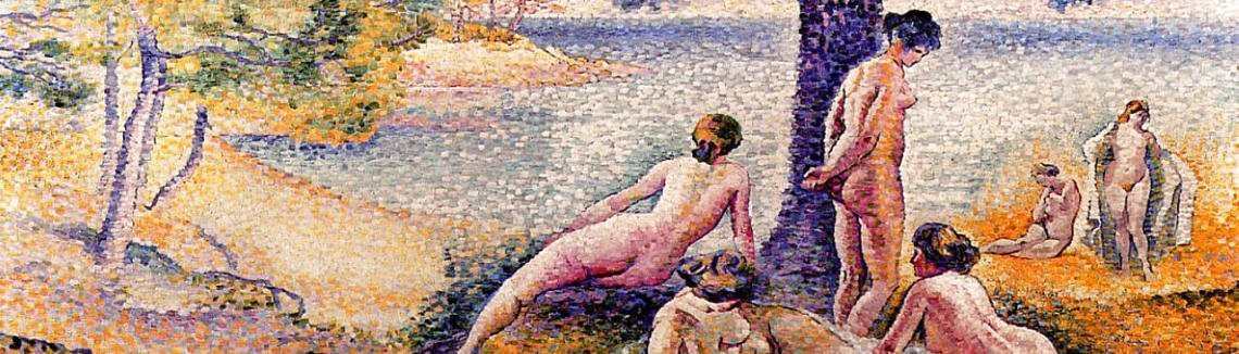 Henri Edmond Cross - A Place In The Shade