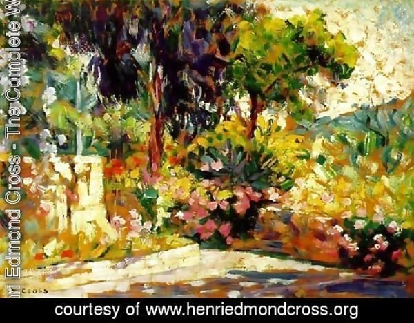 Henri Edmond Cross - Flowered Terrace