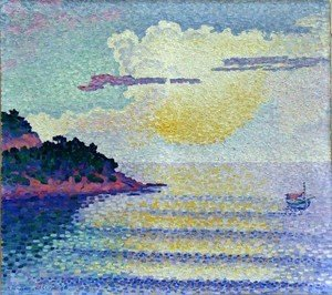 Henri Edmond Cross - Sunset
